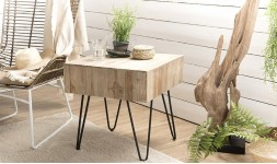 table appoint teck naturel