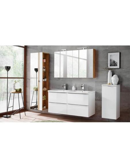 meubles suspendus double vasque