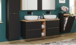 Meubles sous-vasque et 2 vasques