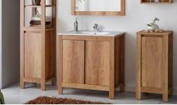 Meubles chêne avec vasque