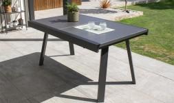 table de jardin extensible 6 / 8 places