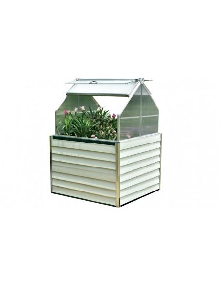 mini serre de jardin blanche stretto design