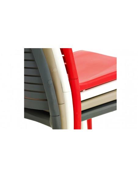 Chaise empilable polypropylene park