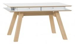 Table extensible scandinave tiroirs