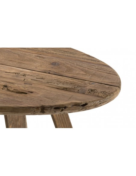 Table basse pin recyclé jack
