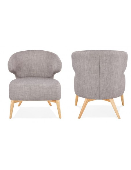 fauteuil oreille scandinave