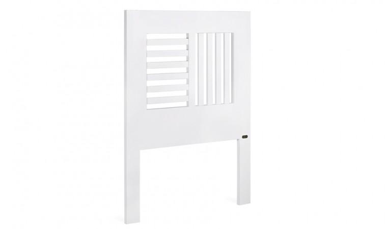 Tête lit en bois blanc 90