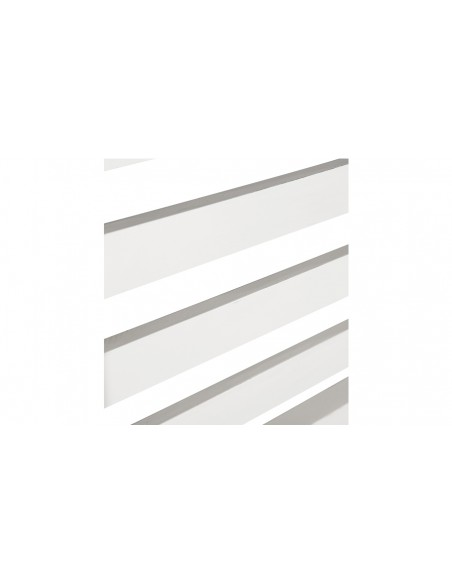 Tête lit bois blanc Nevada