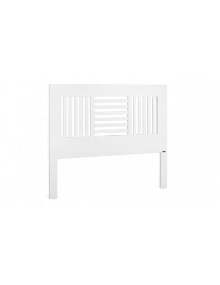 Tête lit bois blanc