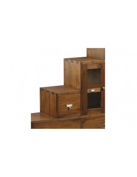Meuble escalier 4 tiroirs Toona