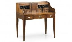 Bureau style vintage bois acajou