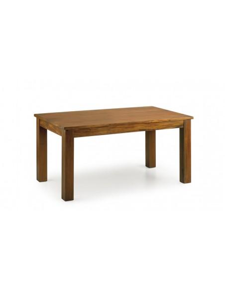 Table manger design extensible acajou