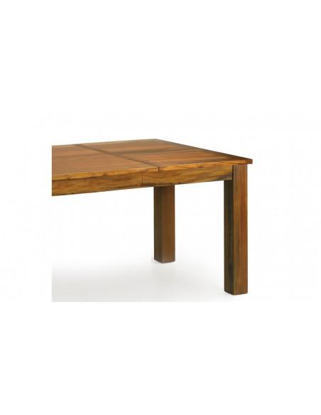 Table extensible bois acajou toona