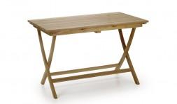 Petite table jardin teck