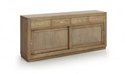 Buffet 4 tiroirs 2 portes
