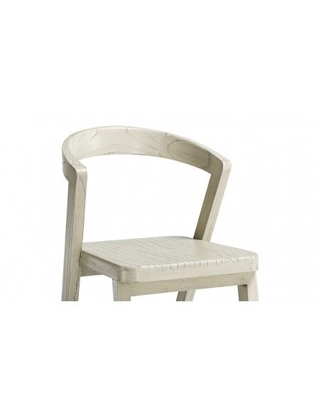 Chaise bois finition rustique ghana