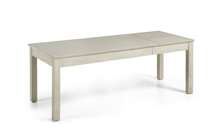 Table manger extensible finition rustique