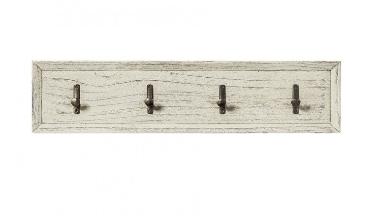 Patère bois finition rustique