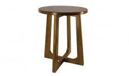 Table appoint bois mindi