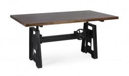 Table modulable manguier acier