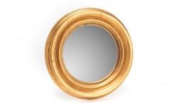 Miroir rond doré 35 cm