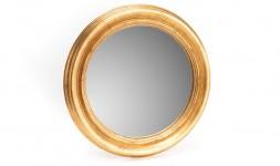 Miroir sorcière doré 45 cm