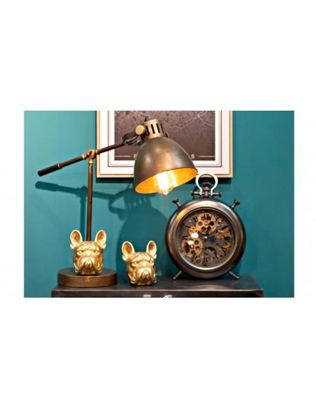 Lampe bureau poser métal pablo