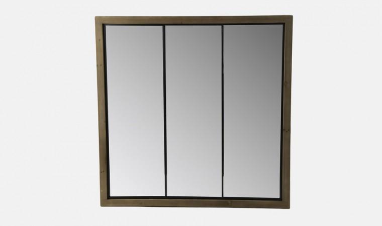 Miroir triple ventaux