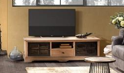 Meuble tv bois style provençal