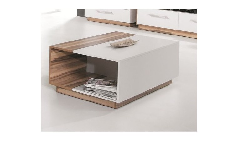 table basse blanche pas chere