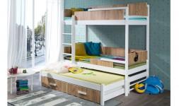 Lit superposé 3 places design