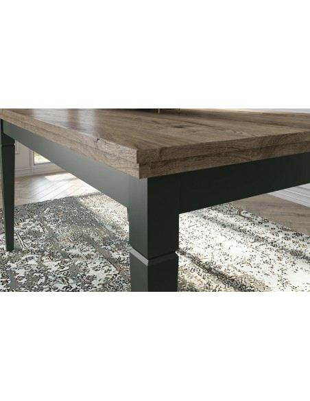 Table pieds verts