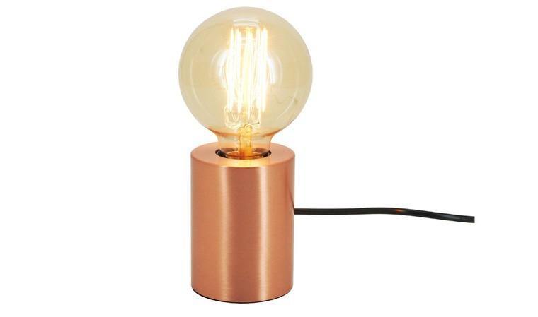 Lampe à poser en cuivre