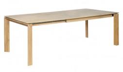 Table contemporaine extensible chêne