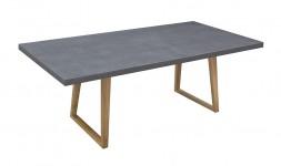 Table repas plateau ciment