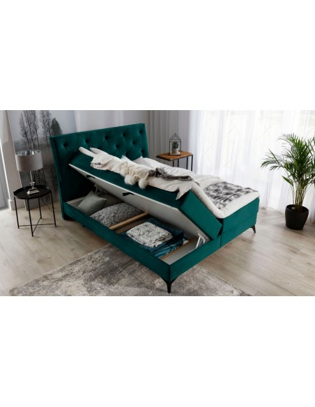 Lit boxspring moderne norma