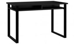 Table bureau noir 120 cm