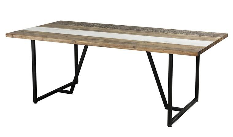 table à manger en acacia