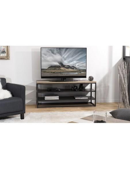 meuble tv 2 étagères