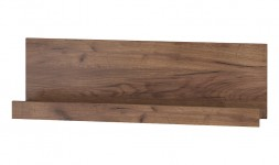 Étagère murale bois foncé
