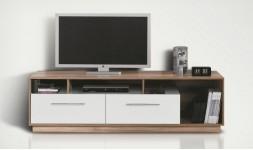 meuble tv blanc pas cher