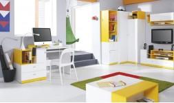 Bureau design jaune