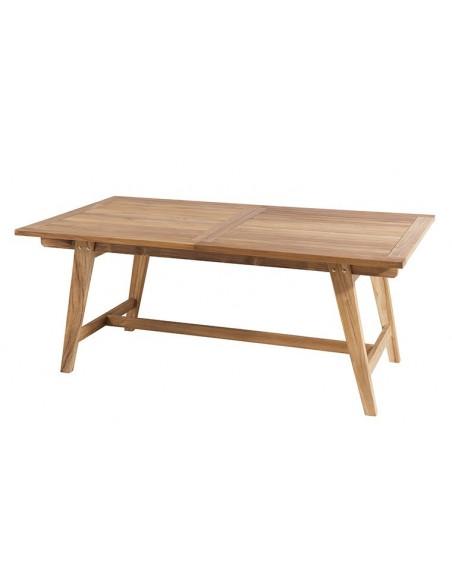 Ensemble table + 6 chaises en teck