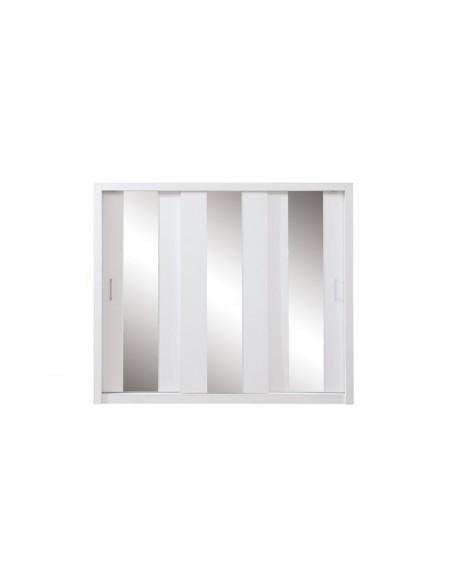 Dressing blanc 3 portes coulissantes