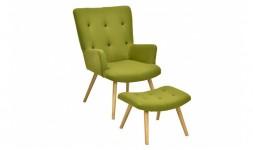 fauteuil relax vert pistache