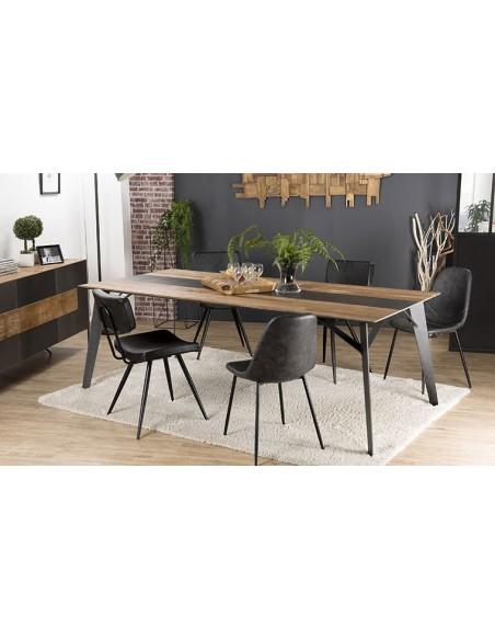 table salle à manger 220 cm teck
