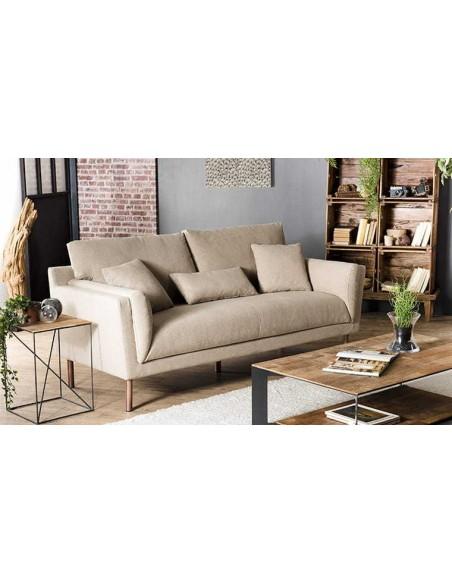 Canapé contemporain beige
