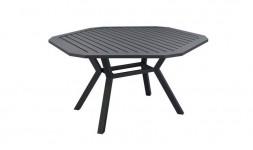 Table de jardin hexagonale