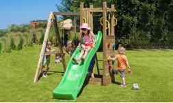Jeux en bois enfant pour l'extérieur