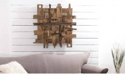 Déco murale design en bois